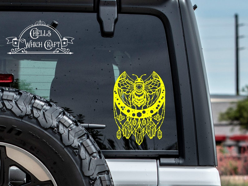 AN100 Bumble Bee Decor Gypsy Decal Boho Bee Decal Bee Decal Dream Catcher Decal