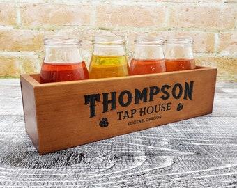Beer Tasting Tray Etsy