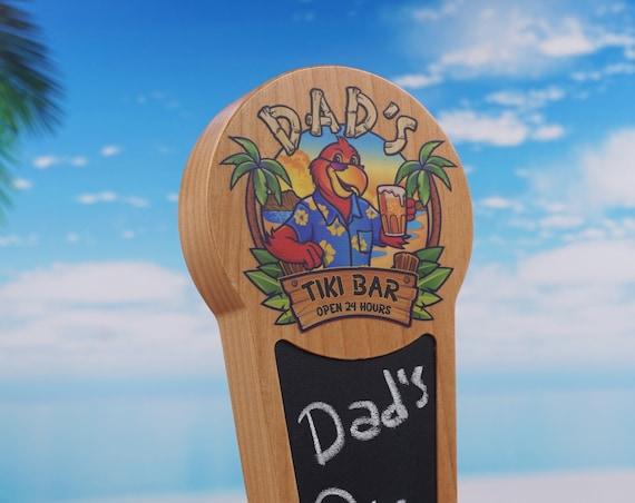 Alder Chalkboard beer tap handle