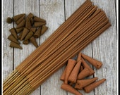 Amish Quilt Hand Crafted, Scented Incense Made in the USA (Cones, Backflow and Sticks)