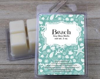 Beach Soy Wax Melts - Handmade Soy Wax Melts