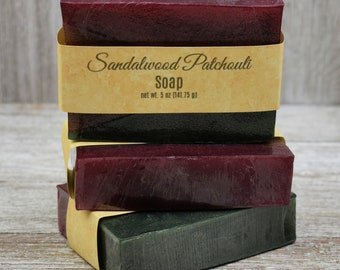 Sandalwood Patchouli Soap