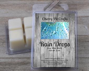 Rain Drops Soy Wax Melts - Handmade Soy Wax Melts