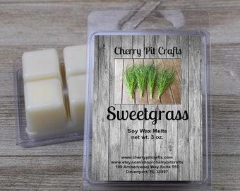 Sweetgrass Soy Wax Melts - Handmade Soy Wax Melts