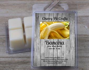 Banana Soy Wax Melts - Handmade Soy Wax Melts