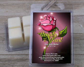 Beauty and the Beast Soy Wax Melts - Handmade Soy Wax Melts