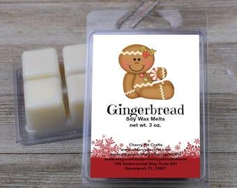 Gingerbread Soy Wax Melts - Handmade Soy Wax Melts