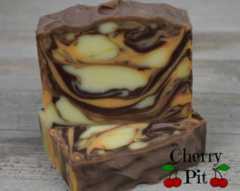Orange Clove Shea Butter Soap - Handmade Soap - All Natural Shea Butter Soap