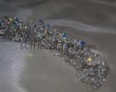 Bridal Headdress - Fabulous Handmade Crystal Tiara / Comb
