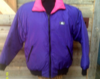 012cdca68e Woman s Vintage Black Bear Ski Coat size Lg. Down Ski