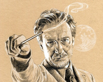 HARRY POTTER - Professor Lupin A4 Art Print (29.7 x 21cm)