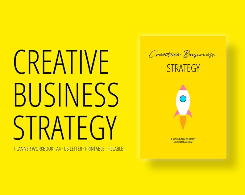 Creative Business Strategy   business planner marketing image 0