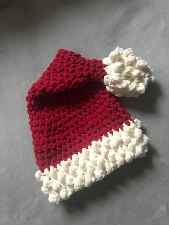 Chunky Crochet Santa Hat Adult  63452a8fb57