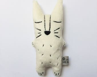 Doudou plush Awakening fox (several colors and with or without sound effects)