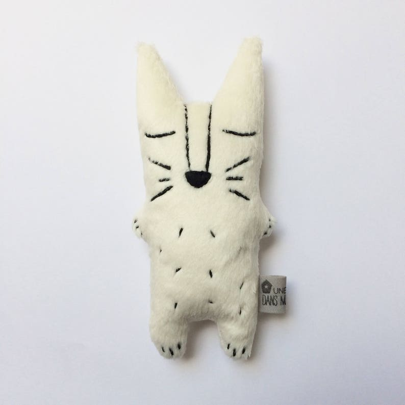 Doudou plush Awakening fox several colors and with or without image 0