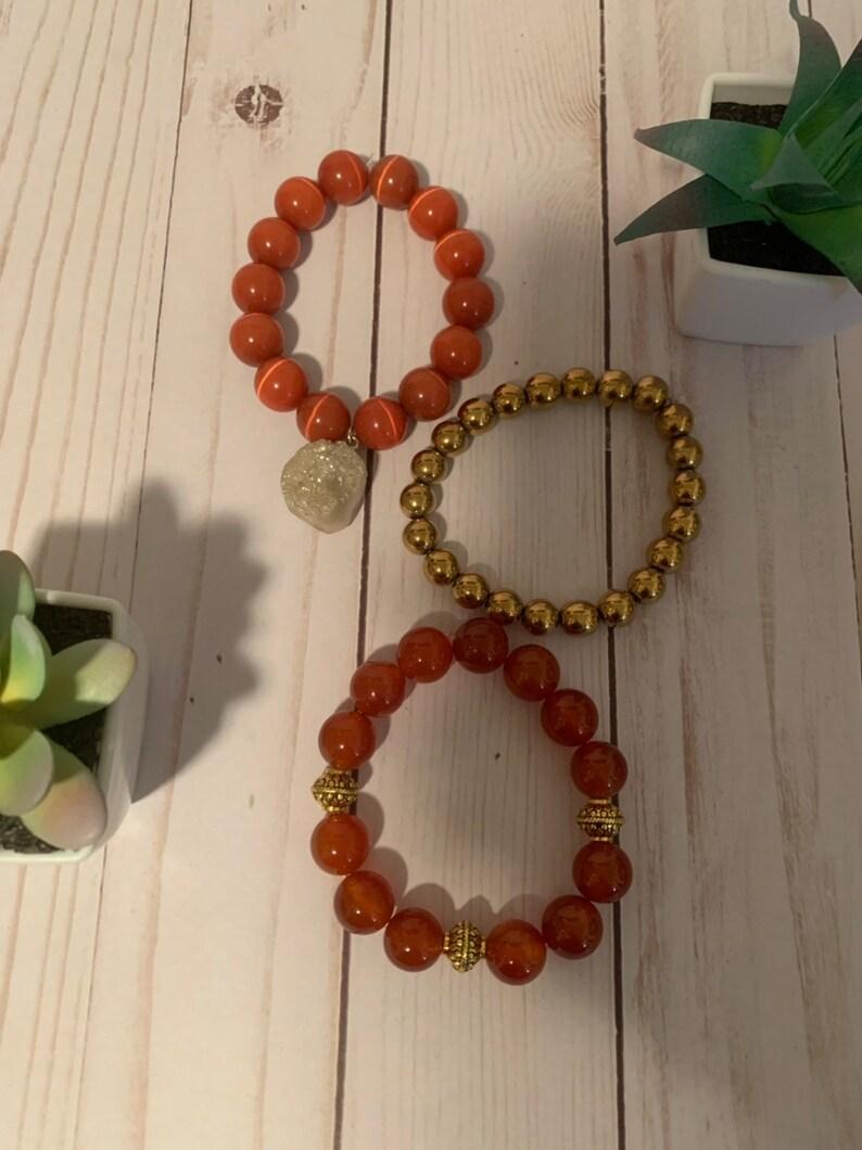 Stackable Natural Bracelet Set