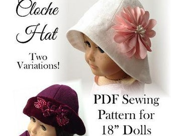 Hat for 18 dolls such as American girl