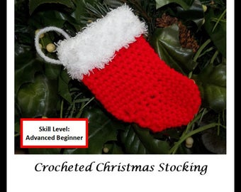Pixie Faire Melinda's Closet Finds Crocheted Christmas Stocking Doll Clothes Crochet Pattern for 18 inch American Girl Dolls - PDF