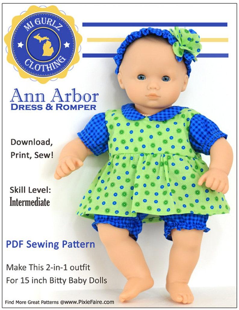 28bc4e5b7b3 Pixie Faire MI Gurlz Clothing Bitty Baby Ann Arbor Dress