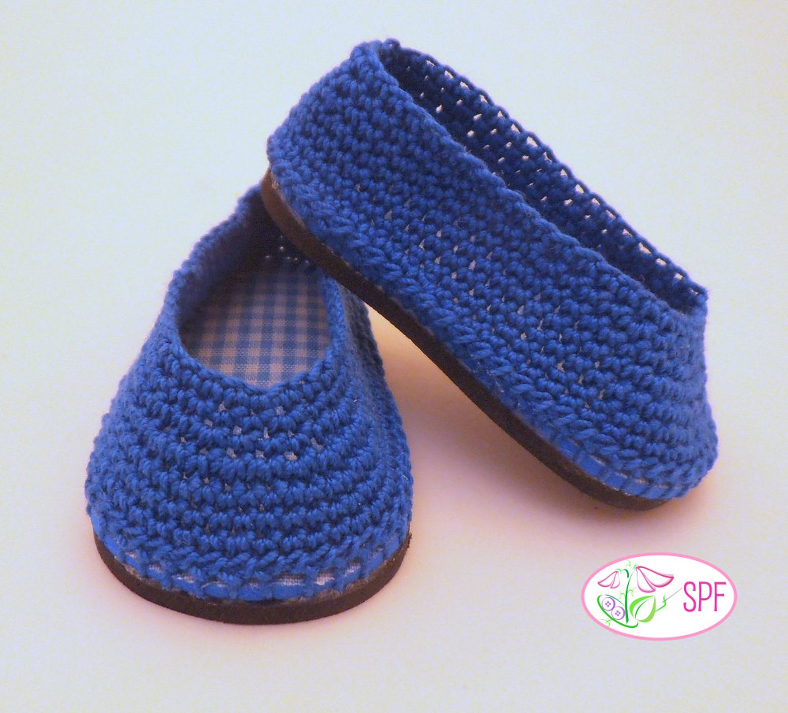 pixie faire sweet pea fashions paloma crocheted ballet flats doll clothes crochet pattern for 18 inch american girl dolls- pdf
