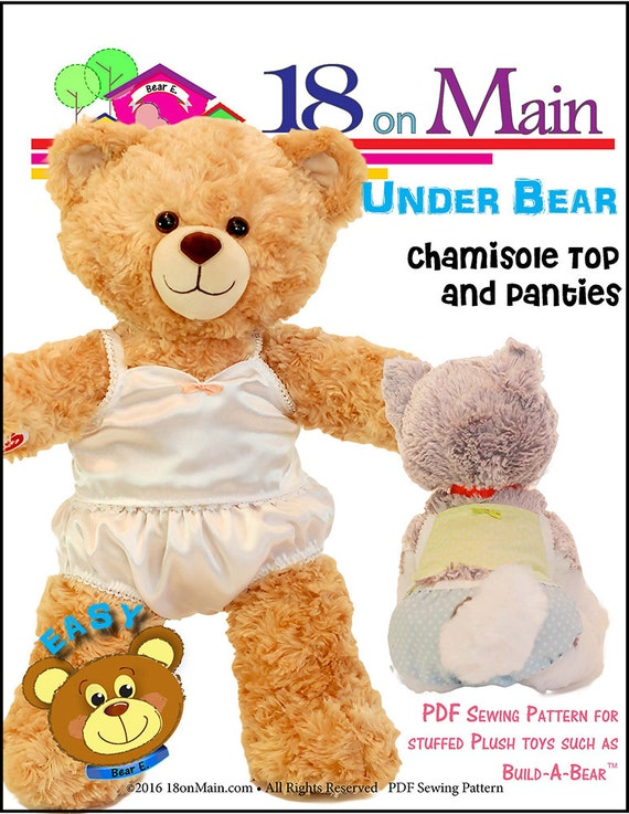 Pixie Faire 40 On Main Under Bear Doll Clothes Pattern For Amazing Build A Bear Clothes Patterns
