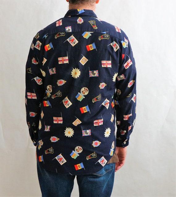 Vintage Paul Smith Mens Shirt   Vintage 90s Mens … - image 3