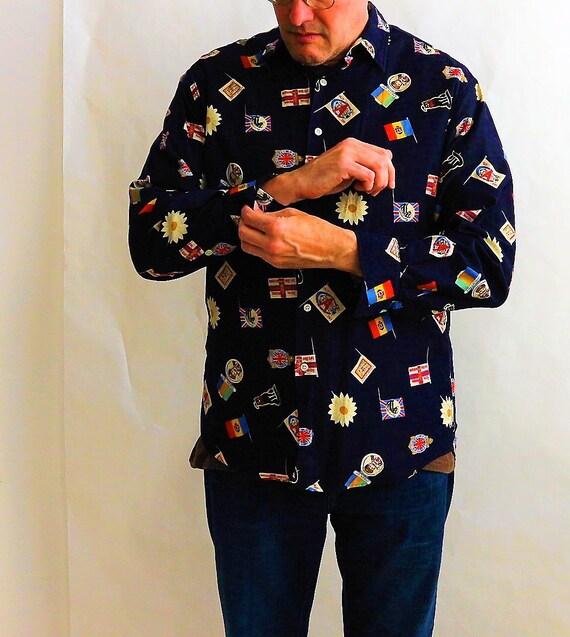 Vintage Paul Smith Mens Shirt   Vintage 90s Mens … - image 2