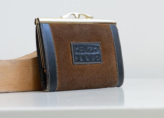 Vintage Kenzo Wallet   70s Kenzo Paris   Vintage W