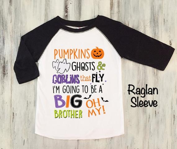 f4623ec8 Halloween Big Brother Announcement Shirt Toddler Boy Big | Etsy