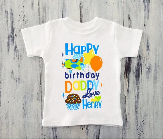Happy Birthday Personalised Your Name Kids T Shirts