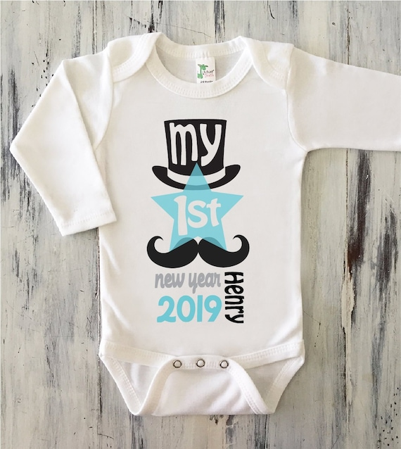 2 Bodysuits Personalised#Christmas#Girls#NewYear/'s#first/_year#pregnancy#baby
