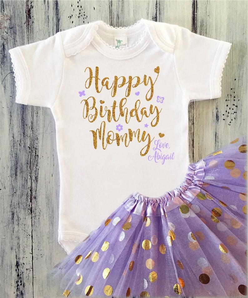 Alles Gute Zum Geburtstag Mami Outfit Baby Mädchen Geburtstag Etsy