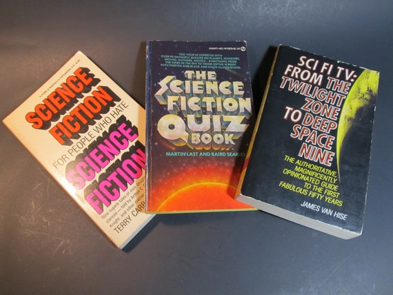 Three Science Fiction Qa Books To Answer Your Sci Fi Etsy
