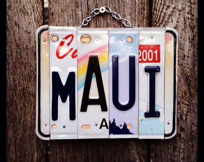 Maui Art. Maui Birthday. Beach Decor. Beach House Decor. Maui Souvenir. Travel Gift. Hawaiian Art. Hawaiian Gifts.