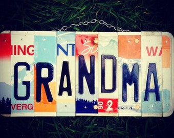 Gift for Grandma, Gift for Nana, Grandma Sign, Grandmother, Nana, Gift idea for grandma, Grandparent gift.