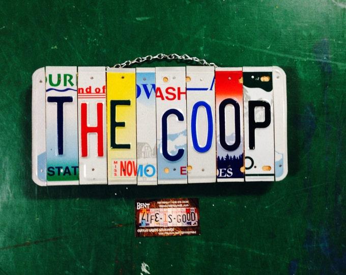 Chicken. Farm. Eggs. Hen. Coop. Sin. License plate. Custom. Chicken coop . Car. Giftidea . Handmade. Barn