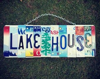 Lake House Sign. Housewarming Gift. Lake House Decor. Lake House  Gift. Lake House Wall Art. Lake House Decorations. Lake House Art.