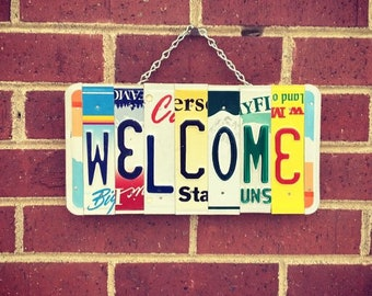 Welcome Sign, House Warming Gift, Welcome Sign for Home, Mothers Day Gift, Home Decor, Home Decor Signs.