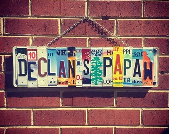 Gift for Grandpa, Grandpa Birthday Gift, Gift from Grandson, Personalized Sign, Gifts for Papaw, Grandpa Gift Ideas, Grandpa signs
