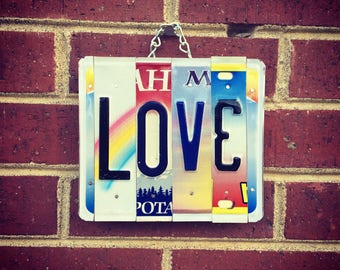 Love Sign- for Bedroom- Love- for Wedding- Boho -Mothers Day Gift- Gift for her - Anniversary Gift - Love Sign - Art