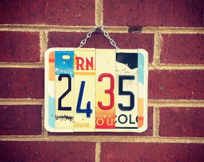 Address Sign, House Numbers, Housewarming Gift, Address Plaque, Address Numbers, Address Sign For House.