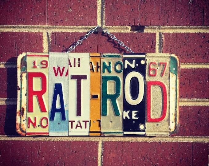 Rat Rod, Rat Rod Decor, Rat Rod Art, Fathers Day Gift, Gift for Men, Garage Decor, Car Decor, Car Stuff