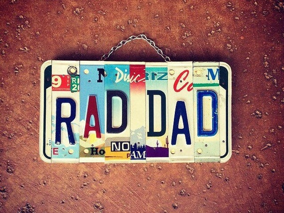 Dad Gift, Fathers Day Gift, License Plate Art Sign, Dad Birthday Gift, Garage Sign, Quarantine Fathers Day, Personalized Signs, Gift For Dad