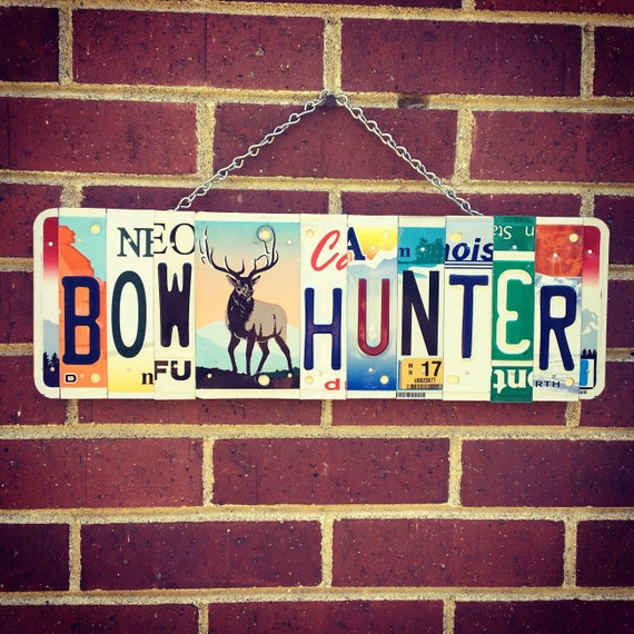 Bow Hunters Gift, Fathers Day Gift, Gift for Dad, Gift for Hunter, Hunters Gift, Cabin Decor, Archery Gifts, Gift for Husband.