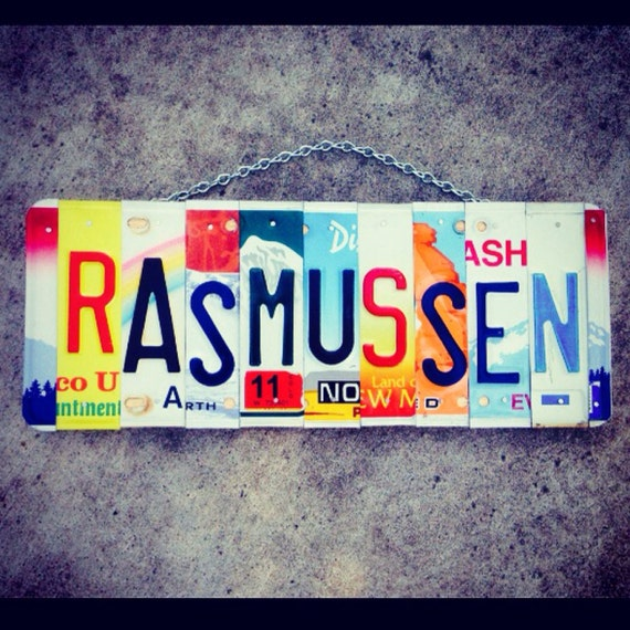 Last Name. Custom Sign. Personalized. Names. Yes