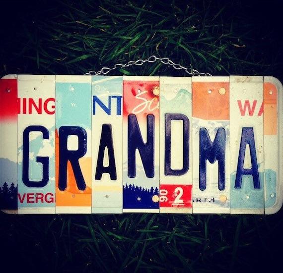 Gift for Grandma, Gift for Nana, Grandma Sign, Grandmother, Nana, Gift idea for grandma, Grandparent gift.