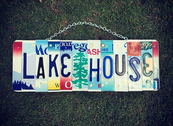 Lake House Sign. Housewarming Gift. Lake House Decor. Lake House  Gift. Lake House Wall Art. Lake House Decorations. Lake House Art.
