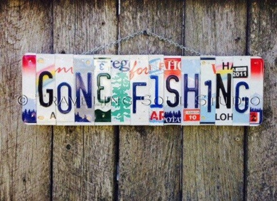 Fishing Gifts for Men. Fathers Day Gift. Fishing Gift. Gone Fishing Sign. Gone Fishing Decor. Cabin and Lake Signs. Cabin Gifts. Fishing Art