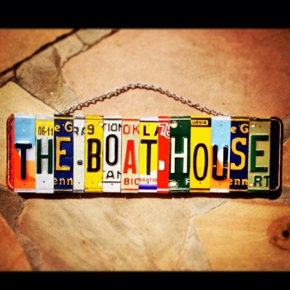 The Boat House Sign, Gone Boating, Lake House Decor, Gift for Boater, House Boat Parking Sinage, Boat Themed Gifts, Mens Birthday Gift