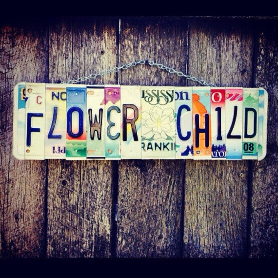 Flower Child Sign, Christmas Gift for Hippies, Bohemian Gifts, Hippie Room Decor, Gifts for Teens. Room Decor, Hippie Art.